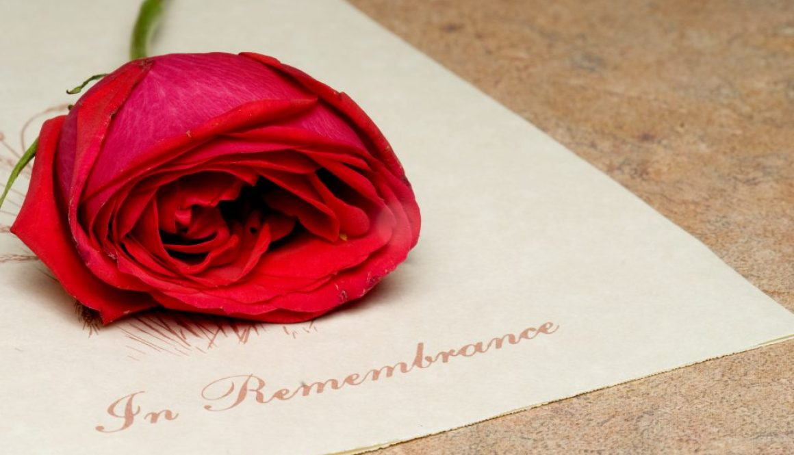 Remembrance – the action of remembering