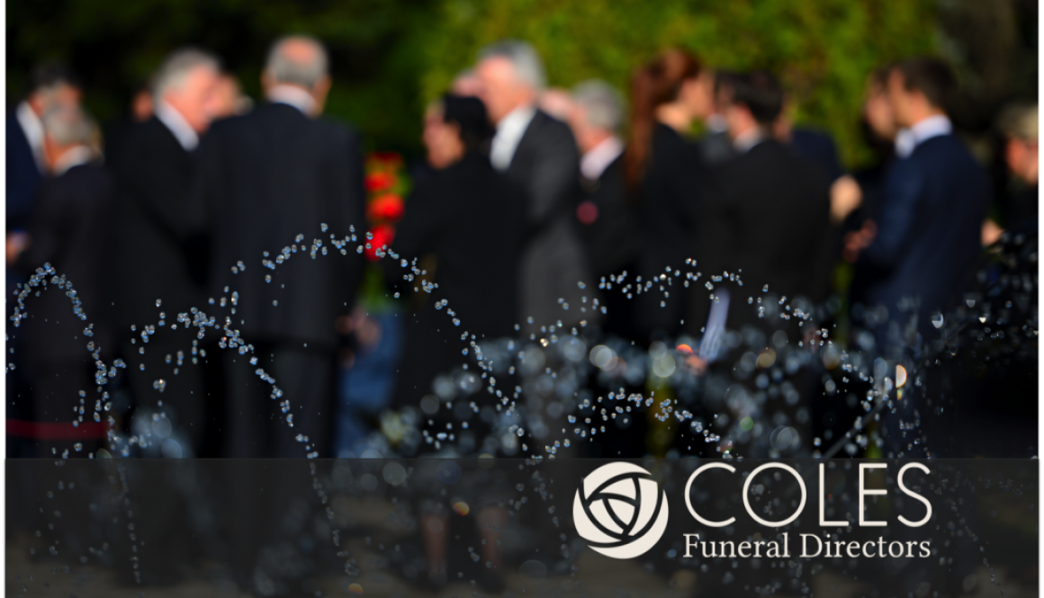 When should funeral arrangements not be a personal choice?