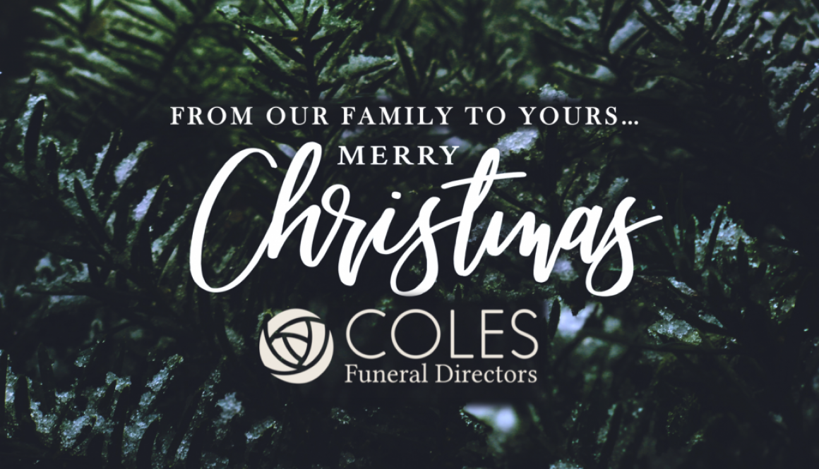 From our family to yours – Merry Christmas